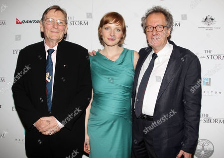 Editorial photo of 'The Eye of the Storm' film premiere, New York, America - 04 Sep 2012