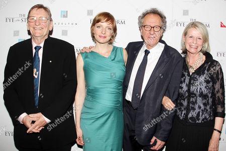 Fred Schepisi, Alexandra Schepisi, Geoffrey Rush
