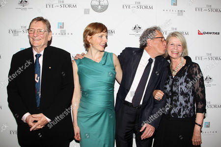 Editorial picture of 'The Eye of the Storm' film premiere, New York, America - 04 Sep 2012