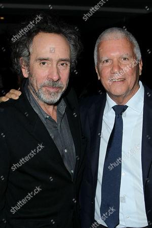 Tim Burton (Director), Larry Gagosian