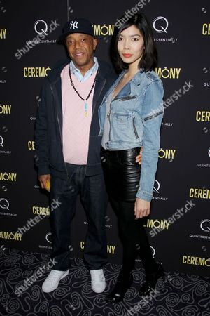 Russell Simmons, Angie Hsu