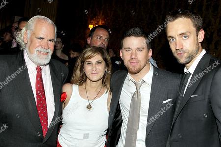 Jeff Blake (Sony), Amy Pascal (Sony), Channing Tatum, Reid Caroli