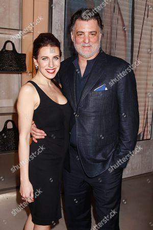 Stock Photo of Joseph Siravo with Wife