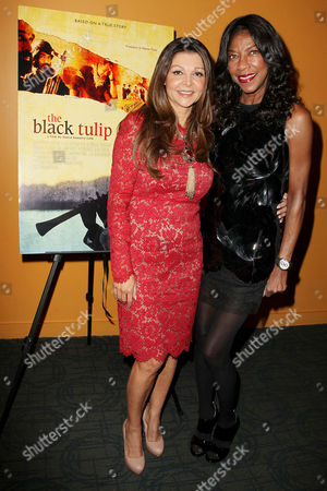 Sonia Nassery Cole and Natalie Cole