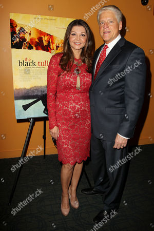 Sonia Nassery Cole and Rick Allen (CEO, SnagFilms)