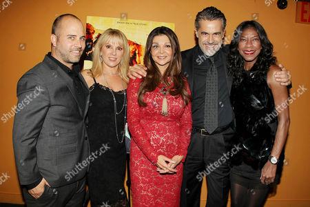 David McFarland, Ramona Singer, Sonia Nassery Cole, Edoardo Costa and Natalie Cole