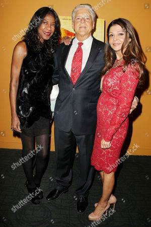 Natalie Cole, Rick Allen (SnagFilms) and Sonia Nassery Cole