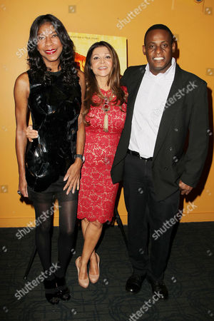 Natalie Cole, Sonia Nassery Cole and Patrick Jerome