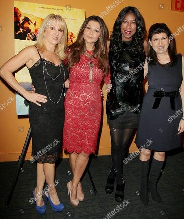 Ramona Singer, Sonia Nassery Cole, Natalie Cole and Nilab Nassery