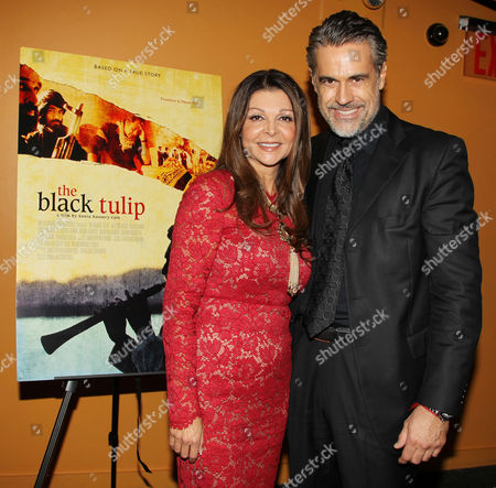 Editorial photo of 'Black Tulip' film premiere, New York, America - 24 Oct 2012