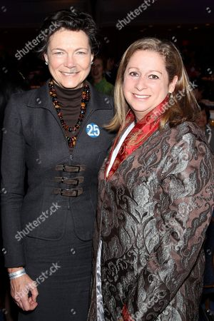 Stock Picture of Diana Taylor and Abigail E. Disney