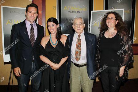 Karl Katz, Alison Klayman, Adam Schlesinger and Julie Goldman