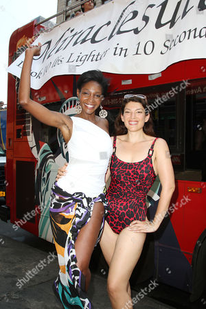 Roshumba Williams and Miraclesuit Model