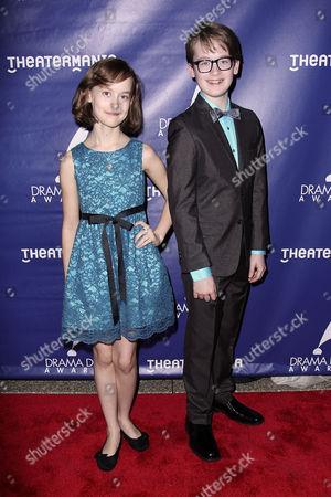 Sydney Lucas and Jake Lucas
