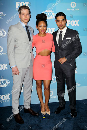 """Cast of """"Minority Report"""" Stark Sands, Meagan Good, Wilmer Valderrama"""