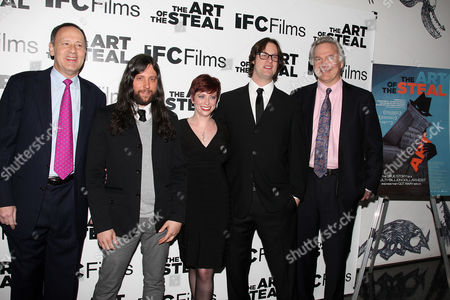 Lenny Feinberg (Exec. Producer), Demian Fenton (Editor), Sheena Joyce (Producer), Don Argott (Director) and Jonathan Sehring (Pres. IFC Films)