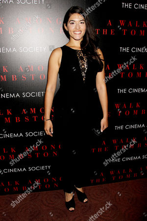 Editorial picture of 'A Walk Among The Tombstones' film screening at the Cinema Society, New York, America - 17 Sep 2014