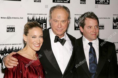 Stock Image of Sarah Jessica Parker, Andrew Bergman and Matthew Broderick