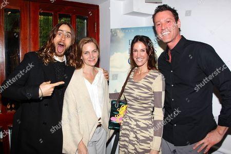 Jared Leto, Melisa Wallack and Rachel Winter (Produc