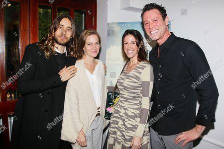 Jared Leto, Melisa Wallack and Rachel Winter