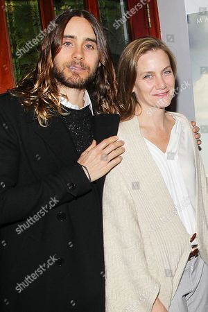 Jared Leto and Melisa Wallack