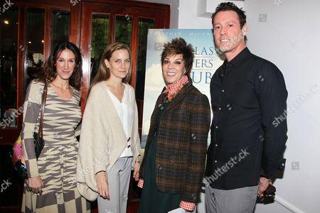 Rachel Winter, Melisa Wallack, Peggy Siegal and Craig Borten