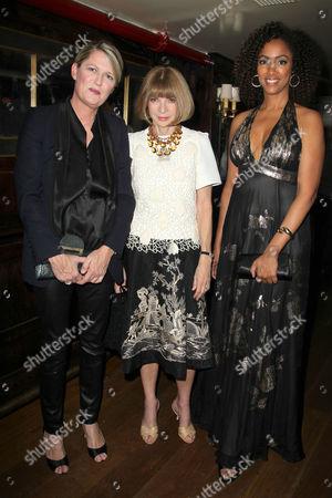 Anna Wintour, Maiken Baird and Michelle Major