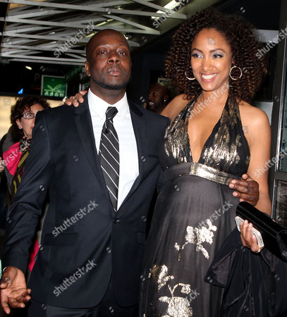 Wyclef Jean and Michelle Major