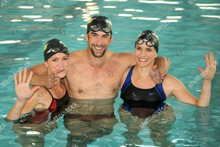Whitney Phelps, Michael Phelps and Hilary Phelps