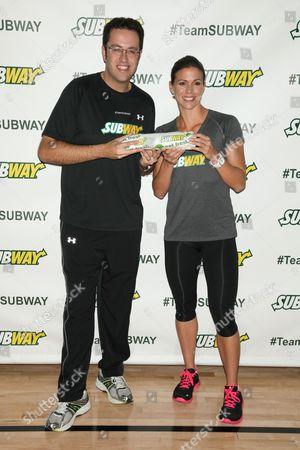 Jared Fogle and Whitney Phelps