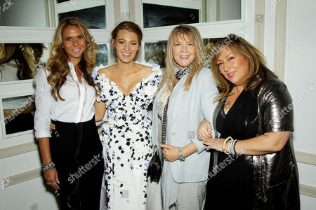 Ofira Sandberg, Blake Lively, Elaine Lively, Lorraine Schwartz