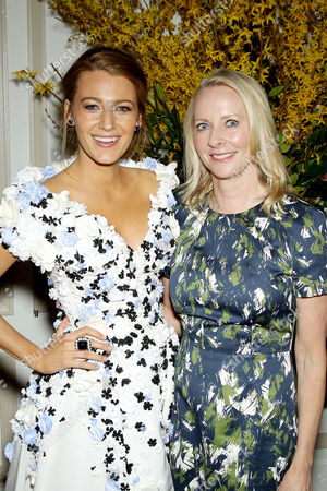 Blake Lively, Linda Wells (editor-in-chief Allure)