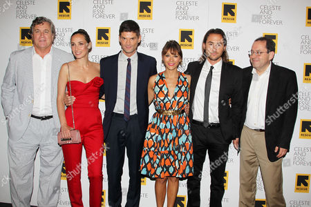 Tom Bernard, Rebecca Dayan, Will McCormack, Rashida Jones, Lee Toland Krieger and Michael Barker