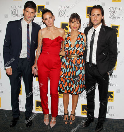 Will McCormack, Rebecca Dayan, Rashida Jones and Lee Toland Krieger