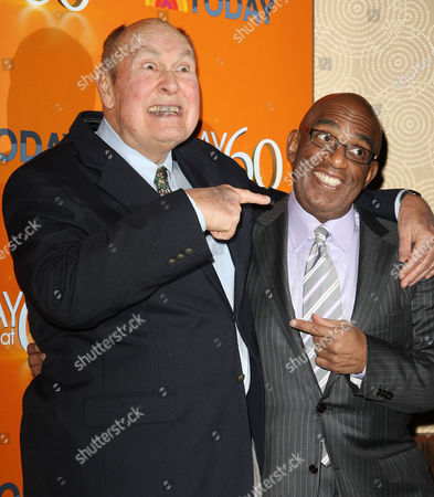 Stock Picture of Willard Scott and Al Roker