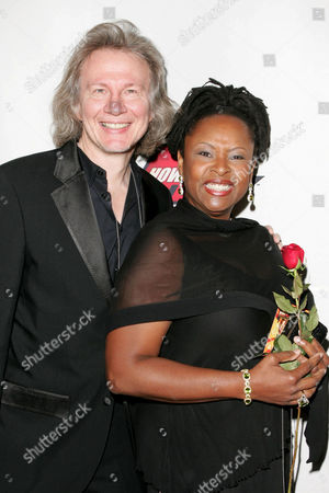 Stock Image of Fred Norris and Robin Quivers