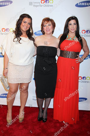 Lauren Manzo, Caroline Manzo and Jacqueline Laurita