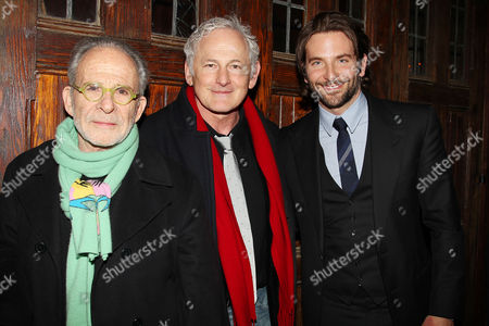 Ron Rifkin, Victor Garber and Bradley Cooper