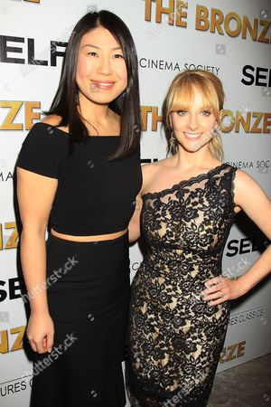 Joyce Chang and Melissa Rauch