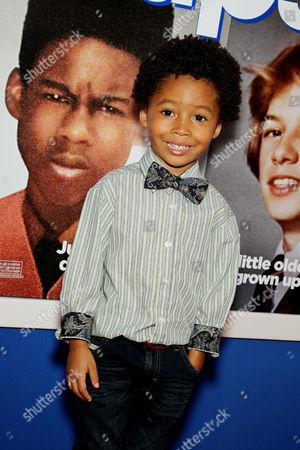 Editorial image of 'Grown Ups 2' film premiere, New York, America - 10 Jul 2013