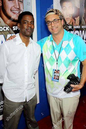 Chris Rock and Jack Giarraputo