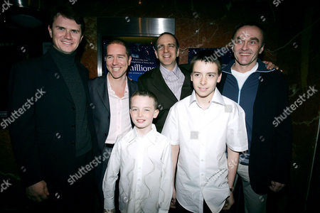 Peter Rice (President of FOX Searchlight), Andrew Hauptman (Producer), Eric Beckerman (Director of Children's Film Festival), Director Danny Boyle, Alex Etel and Lewis McGibbon