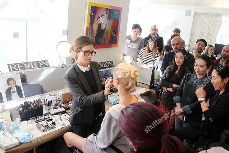 Editorial picture of Oscar de la Renta show, Autumn Winter 2014 Mercedes-Benz Fashion Week, New York, America - 11 Feb 2014