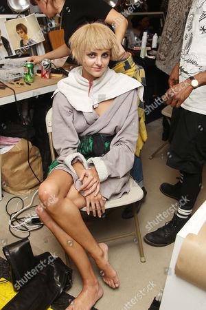 Editorial image of Oscar de la Renta show, Autumn Winter 2014 Mercedes-Benz Fashion Week, New York, America - 11 Feb 2014