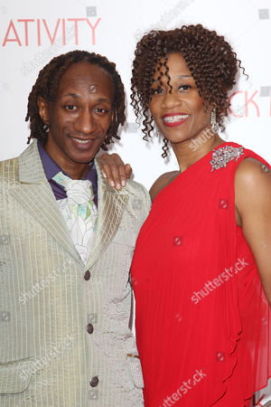Stock Image of Otis Sallid and Judine Somerville (choreographers)
