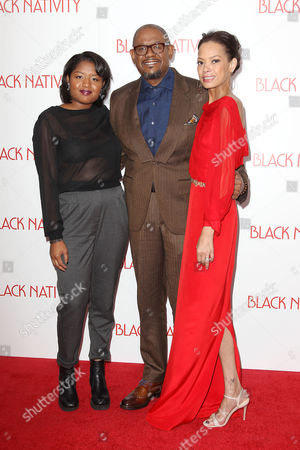 Editorial image of 'Black Nativity' film premiere, New York, America - 18 Nov 2013