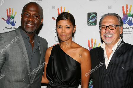 Bebe Winans, Prudence Solomon and Jerry Inzerillo