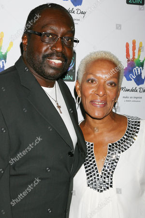 Earl Monroe and wife Marita Green Monroe