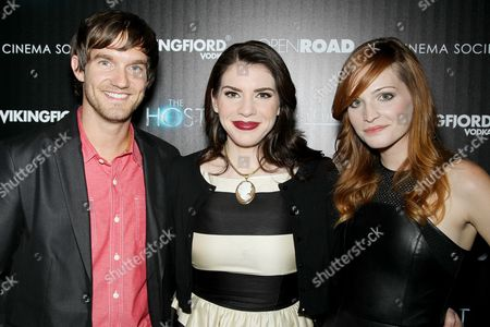 Editorial photo of 'The Host' Cinema Society film screening, New York, America - 27 Mar 2013