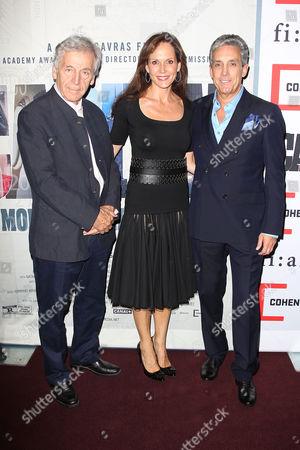 Costa-Gavras (Director; Capital), Charles Cohen and Chloe Cohen